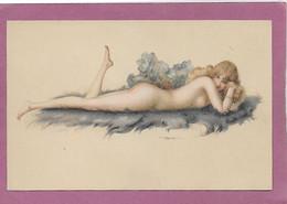 NU D' ALBERT PENOT ART NOUVEAU MODELE D' ATELIER - Other Illustrators