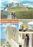 CPM SLOVAQUIE KOSICE ZEHRA - Le Château De Spis - Multivues 1991 - Slovaquie