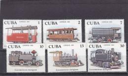 Cuba Nº 2216 Al 2221 - Neufs