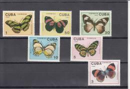 Cuba Nº 2914 Al 2919 - Neufs