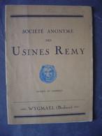 Ancienne Brochure Usines Remy - WYGMAEL - Avis Pratiques Aux Repasseuses - En FR Et NL - Bélgica