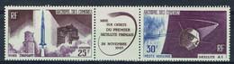 Comores, Premier Satellite Français, 1966, **, TB (trace De Charnière Sur La Vignette, Les Timbres **) - Poste Aérienne