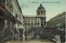 MOLENBEEK-MAISON COMMUNALE-MARCHE-PHARMACIE-DELHAIZE-AU PLANTEUR - St-Jans-Molenbeek - Molenbeek-St-Jean