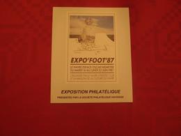 Exposition Philatélique Le Havre 1987 Expo Foot équipe Du H.A.C. - Collectors