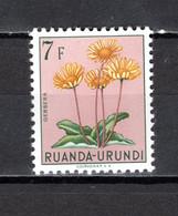 RUANDA-URUNDI   N° 192   NEUF SANS CHARNIERE   COTE 1.25€   FLEUR - 1948-61: Neufs