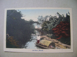 PHILIPPINES - OLD POSTCARD IN THE STATE - Philippines