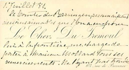 Lot De Documents Historique -  Général  Mollard - Historical Documents