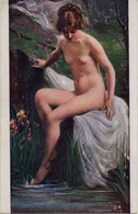 EROTISME NU - La Nymphe Aux Iris De Grenouilloux-Fleuron - Salons De Paris - - Unclassified