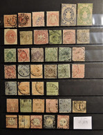 02 - 21 //  Old Stamps - Lot D'anciens états Allemand - Bayern - Wurtemberg - Braunchweig - Grosse Cote - Colecciones (sin álbumes)