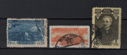 USSR - Soviet Union 1950 Sowjetunion Mi 1518-1520 30 Jahre Armenische SSSR / 30 Jahre Armenische SSSR /☉/ Used - Oblitérés