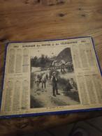 ALMANACH DES POSTES ET DES TELEGRAPHES 1915 - Grossformat : 1921-40