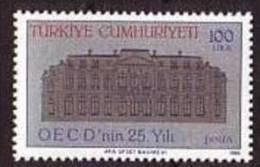 1986 TURKEY 25TH ANNIVERSARY OF THE OECD MNH ** - Ongebruikt