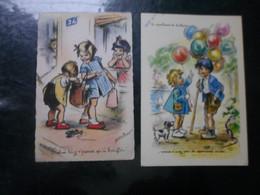 LOT DE 32 CPA / ILLUSTRATEURS CELEBRES / GERMAINE BOURET/ SA - 5 - 99 Postcards