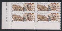 France - 2016 - N° Yv. 5063 - Verdun - Bloc De 4 Coin Daté - Neuf Luxe ** / MNH - 2010-....
