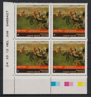 France - 2012 - N° Yv. 4652 - Edgar Degas - Bloc De 4 Coin Daté - Neuf Luxe ** / MNH - 2010-....