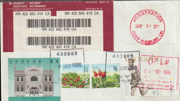 Canada Registered Cover Capex 96 Toronto With Fine $5 Stamp (G124-9) - Philatelic Exhibitions