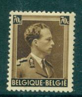 België 1936 Leopold III 70c Bruin OPB 427 Postfris MNH - 1934-1935 Léopold III
