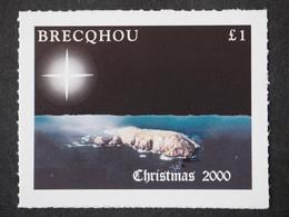 2000 Brecqhou Island (GB Local) - Christmas 1v., Map, Aerial View MLH - Emissione Locali