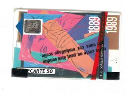 F92A - Telephone Au Fil Du Temps - NSB - 1989