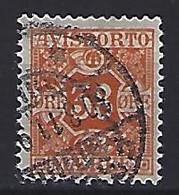 Denmark  1907  Newspaper Stamp  38 Ore (o) Mi.6x - Port Dû (Taxe)
