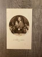 LA VIERGE A L'HOSTE - ( INGRES ) / Art Catholique R.38 PARIS - Andachtsbilder
