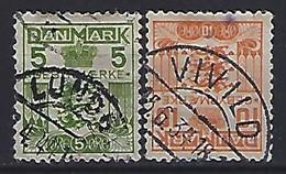 Denmark  1934  Gebyrmærke  (o) Mi.17-18 - Postage Due