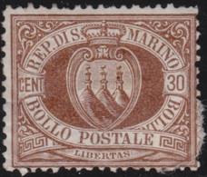 San Marino      .  Y&T   .  6   (2 Scans)     .  *    .  Neuf Avec Gomme Et Charnière    .  /  .  Ongebruikt - Unused Stamps