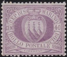 San Marino      .  Y&T   .  7   (2 Scans)     .  *    .  Neuf Avec Gomme Et Charnière    .  /  .  Ongebruikt - Unused Stamps