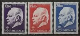 Monaco 1974 / Yvert Poste Aérienne N°97-99 / ** - Poste Aérienne