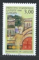 Andorre Français YT 476 Neuf Sans Charnière - XX - MNH Europa 1996 - Unused Stamps