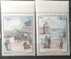 Monaco 1987 / Yvert N°1611-1612 / ** - Nuevos