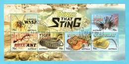 Australien 2014  Mi.Nr.  Sheet 221 (4187 / 92) , Things That Sting - CTO Gestempelt / Fine Used / (o) - Gebruikt