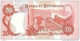 BOTSWANA P. 21a 20 P 1999 UNC - Botswana