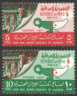 512 Irak 1965 Alger Algiers Lampe Huile Oil Lamp MNH ** Neuf SC (IRK-13c) - Petrolio