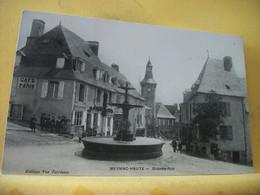 19 6442 CPA 1914 - 19 MEYMAC. GRANDE RUE - ANIMATION. CAFE DE PARIS. - Other Municipalities