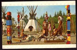 AK 001625 DENMARK - Billund - Legoland - The Red Indian Village6 - Dänemark