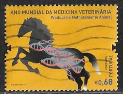 Portugal – 2011 Veterinary Medicine 0,68 Used Stamp - Used Stamps