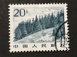 ◆◆◆CHINA 1981-83 Mt. Tian,  SC#1731 ,  20F  USED  AB3008 - Gebraucht