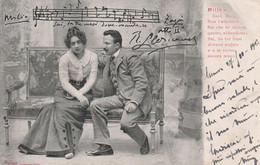 Musicien  Musique   Partition - Musica E Musicisti