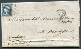 "FRANCE ( OBLITERATION LOSANGE ) : P C   1818  ""  Lyon Rhone  ""  A  SAISIR . - 1849-1876: Klassik"