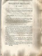 1845 , TRAITE D AMITIE , DE COMMERCE ET DE NAVIGATION ENTRE LA FRANCE ET LA REPUBLIQUE DE L EQUATEUR - Décrets & Lois
