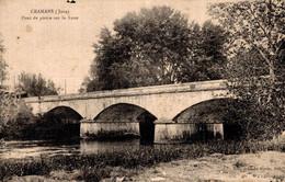 39  CRAMANS  Pont De Pierre Sur La Loue - Altri Comuni