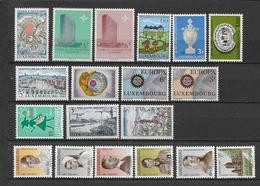LUXEMBOURG - ANNEE COMPLETE 1967 ** MNH - - Años Completos