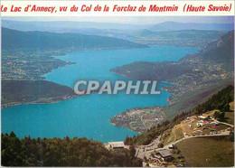 CPM Le Lac D Annecy Haute Savoie Panorama Depuis Le Col De La Forclaz De Montmin - Annecy