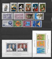 LUXEMBOURG - ANNEE COMPLETE 1978 ** MNH - - Años Completos