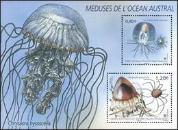 T.A.A.F. // F.S.A.T. 2021 - Faune Marine, Méduses - BF Neufs // Mnh - Unused Stamps
