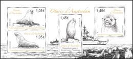 T.A.A.F. // F.S.A.T. 2021 - Faune Marine, Otaries - BF Neufs // Mnh - Unused Stamps