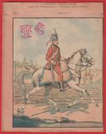 """Protége Cahier Ancien Fin XIXéme Collection L' Armée Française  Depuis François 1er  """" Chasseurs Fischer """" - Book Covers"""