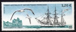 T.A.A.F. // F.S.A.T. 2021 - Bateau Voilier Aviso La Meurthe - 1 Val Neufs // Mnh - Unused Stamps