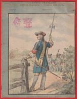 """Protége Cahier Ancien Fin XIXéme Collection L' Armée Française  Depuis François 1er  """" Sergent D'Infanterie """" - Book Covers"""